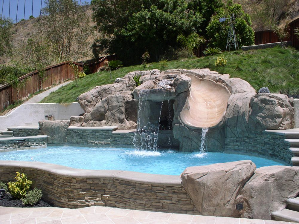 Water Feature To Your Custom Pool
